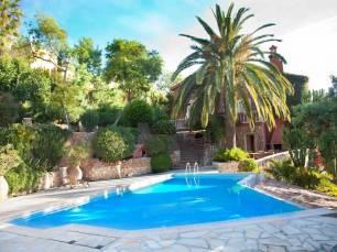 Swimming pool at Cote d'Azur property.
