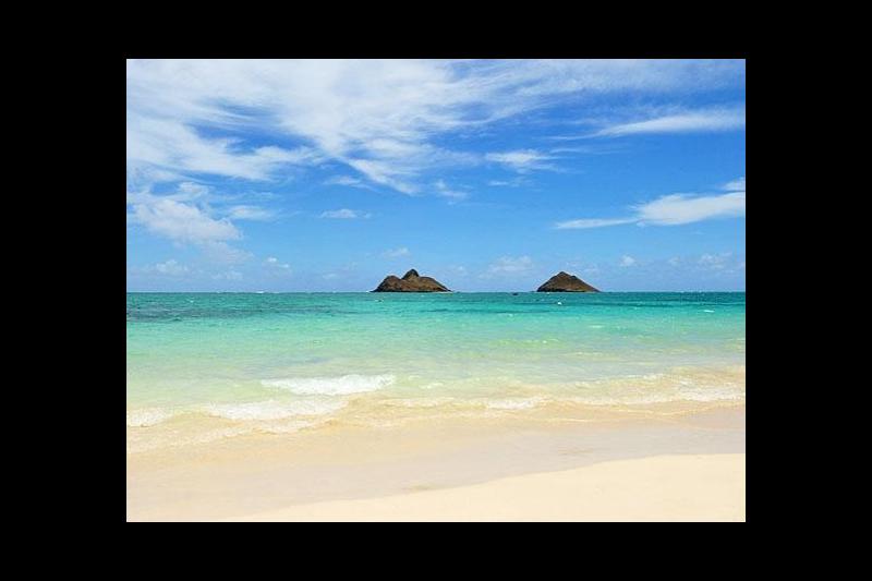 Beach Bungalow Overlooking Beautiful Lanikai Bay Kailua