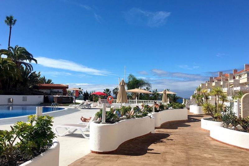 Sunny apartment on the coast of Adeje, Tenerife - Callao ...