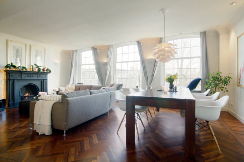 Luxurious apartment in historic central Amsterdam ...