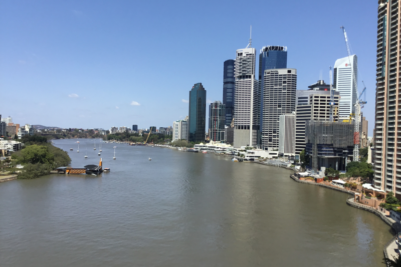 Brisbane CBD Apartment with amazing views on river ...