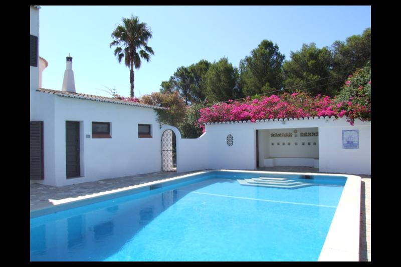 Established Villa In Mature Gardens With A Private Areias De Porches Faro Love Home Swap