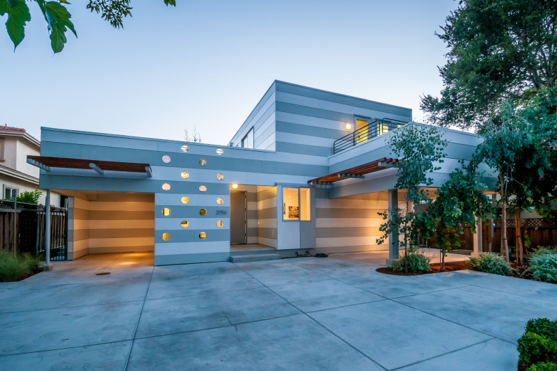 Modern home in san francisco bay area california menlo for Modern homes san francisco