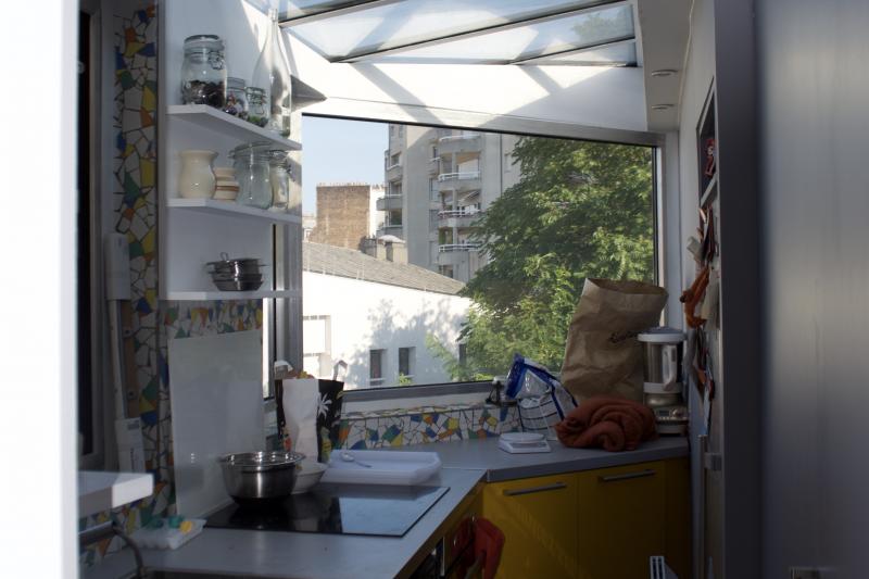 appartement atypique sous les toits de paris paris le de france love home swap. Black Bedroom Furniture Sets. Home Design Ideas