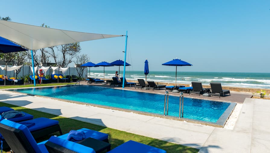 The Amari Beach Club at Hua Hin. This home swap property overlooks one of the best beaches.