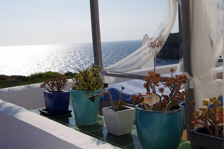 Beautiful balcony at home swap in Menorca